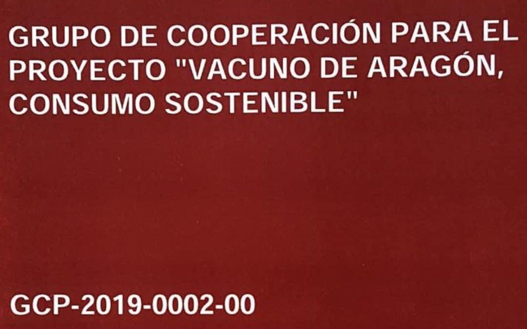 """GRUPO COOPERACIÓN """"VACUNO DE ARAGÓN, CONSUMO SOSTENIBLE"""""""