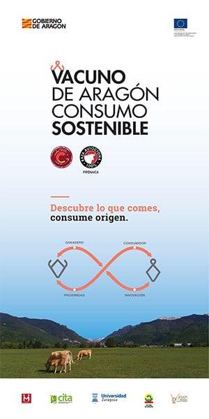 """Grupo de coop. """"Vacuno de Aragón, Consumo Sostenible"""""""